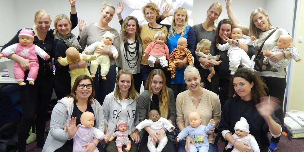 Postani certificiran inštruktor za masažo dojenčkov IAIM
