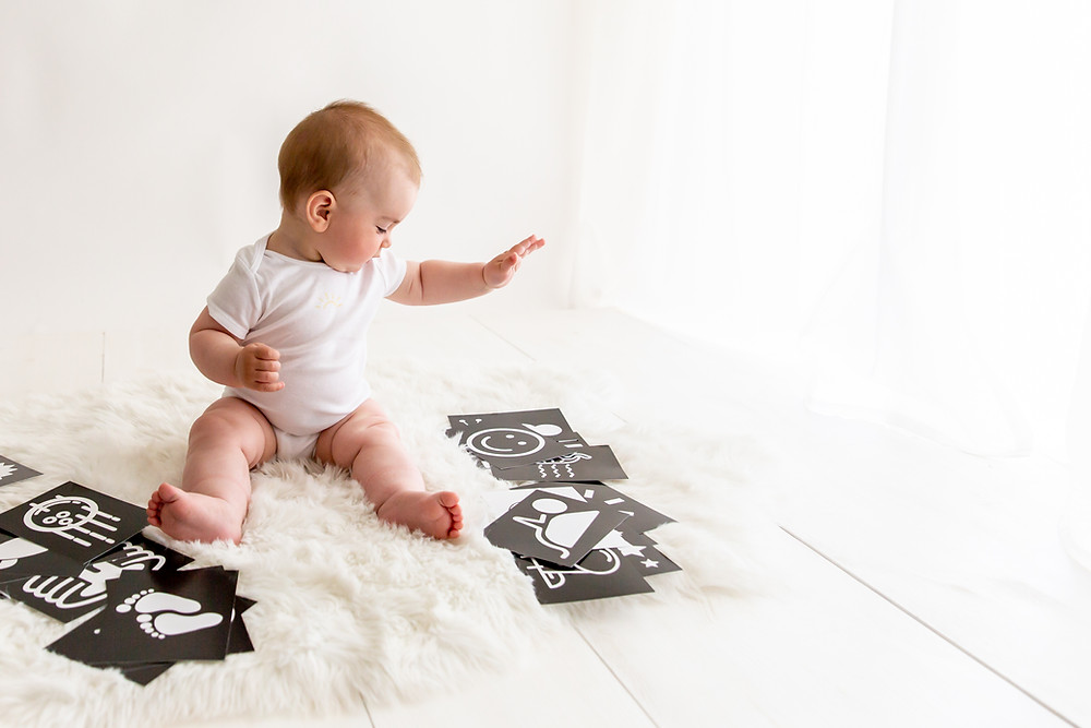 Kartice aktivnosti za dojenčka, mali migec