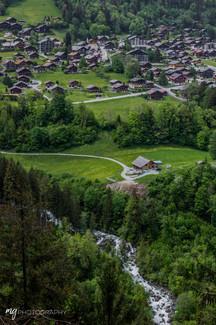 Valley in Switzerland