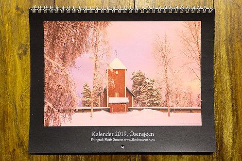 Osensjøen - Fotokalender 2019