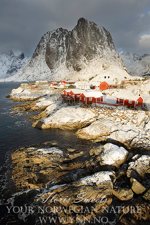 Reine fisherman village