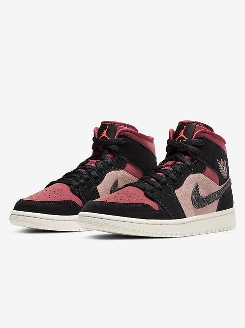 Air Jordan One Mid Particle Beige/Black