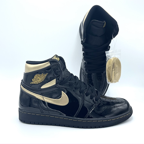 Jordan 1 Retro High Black Metallic Gold 2020