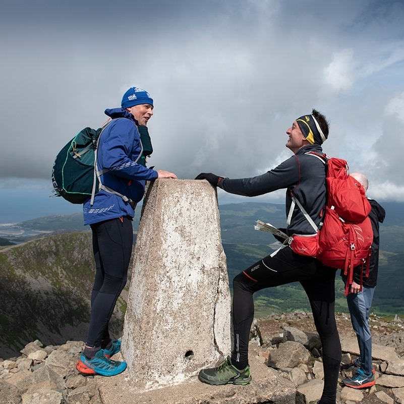 Cadair Idris Trig point