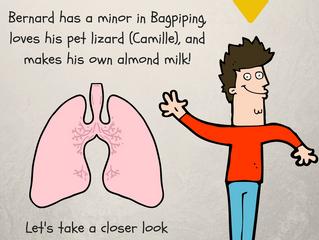 Meet Bernard's LUNGS!