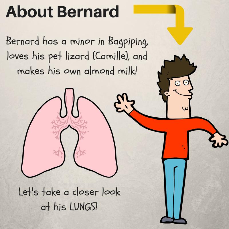 Bernard's Body Series, Lungs!