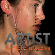 Artist and painter Szekely Szilard in Artist portofolio magzine issue 34