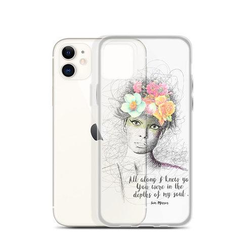 Flower Girl - iPhone Case
