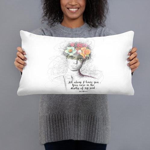 Flower Girl - Basic Pillow