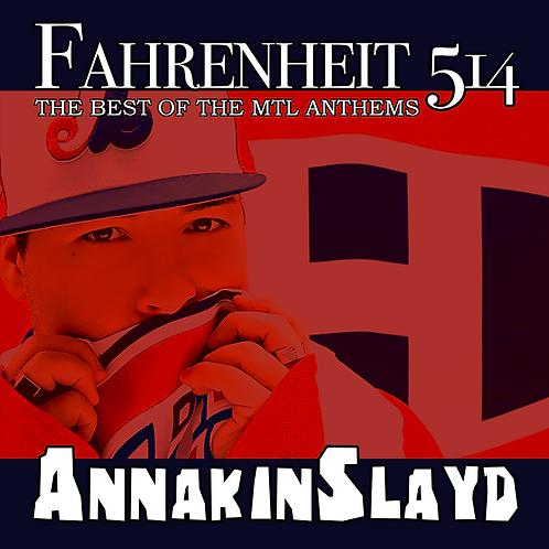 'Fahrenheit 514' ALBUM - SIGNED by Annakin