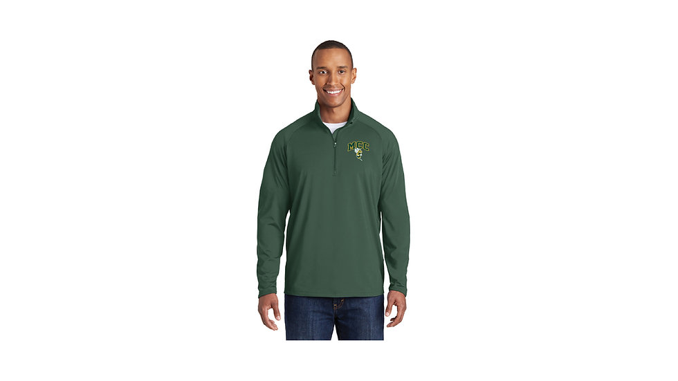 Embroidered Sport-Tek Sport-Wick Stretch 1/2-Zip Pullover