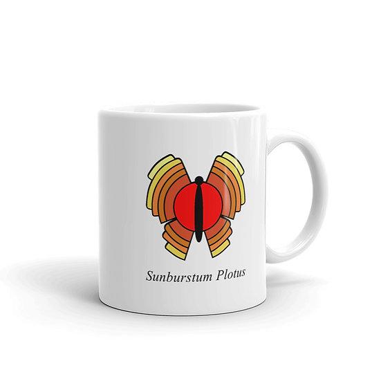 Datavizbutterfly - Sunburst Plotus - Mug