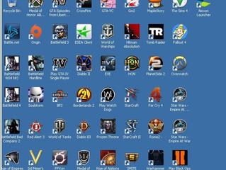 Dual Game disk settings