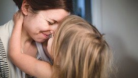 'The more connected a child feels to a parent, the less afraid they feel'