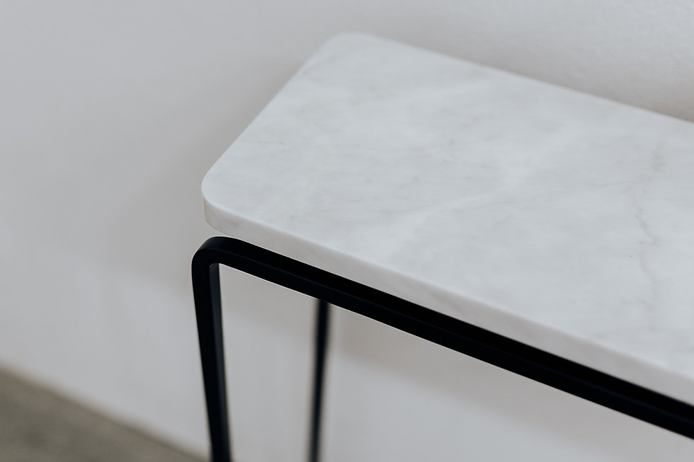 konsoll -form C- | marmor