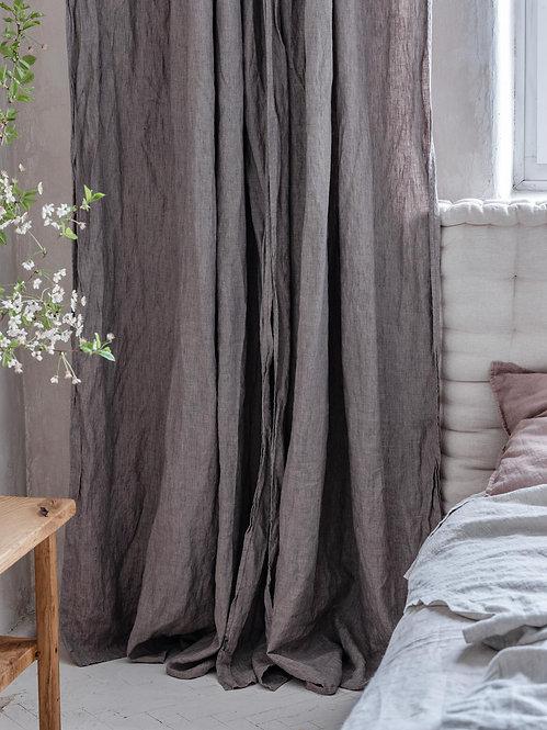beige stonewashed gardiner av lin
