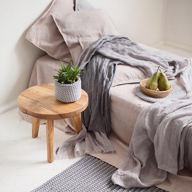 lite bord | eik Ø35