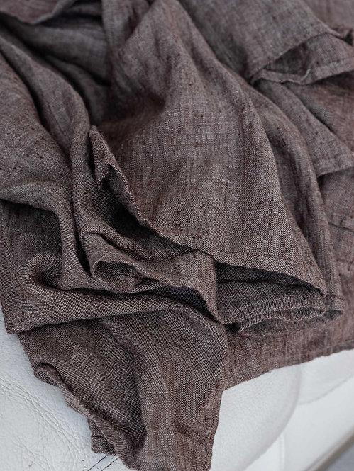 noettebrunt stonewashed gardiner av lin