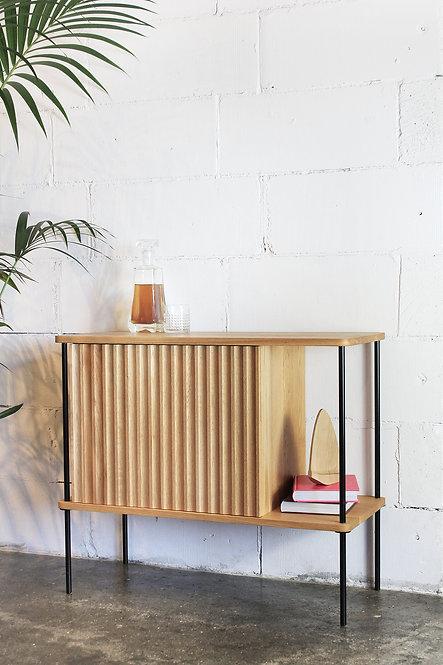 tv cabinet skjenk kommode  vinyl heltre eik amerikansk valnøtt