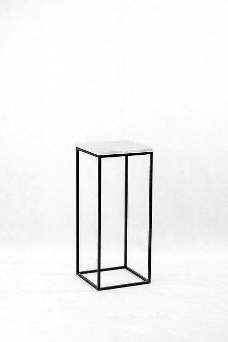 søyle | hvit marmor 30x30