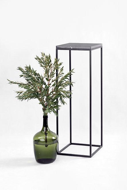 søyle | grå marmor 30x30