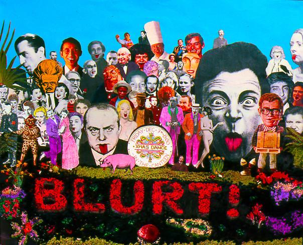 BLURT! Gig poster