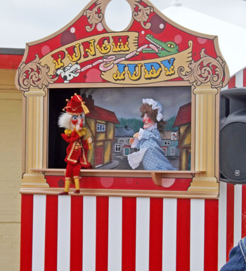 Punch & Judy booth