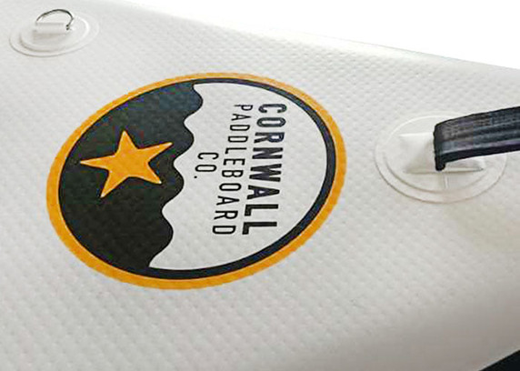 Paddleboard branding logo