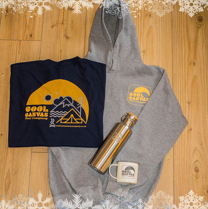 Cool Canvas clothing & flask