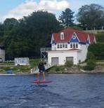Foiling Ottawa River