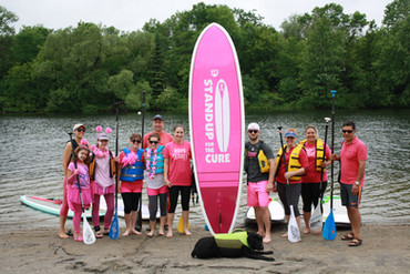 SUP Ottawa Breast Cancer event