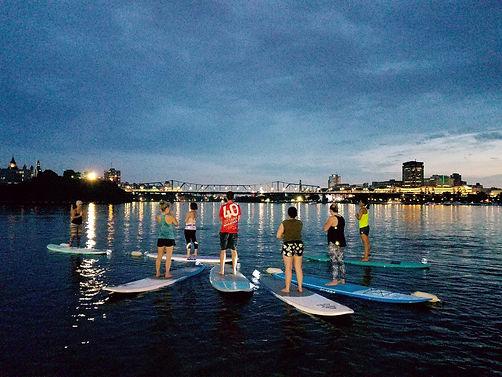 Urban Ocean Floating Yoga Ottawa