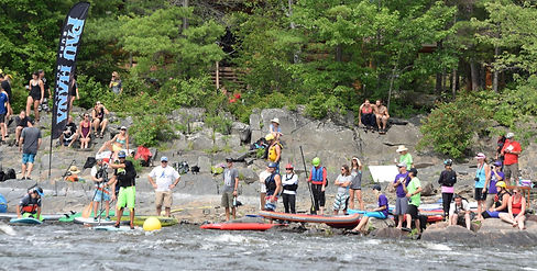 The Ultimate SUP Challenege- Ottawa River Whitewater