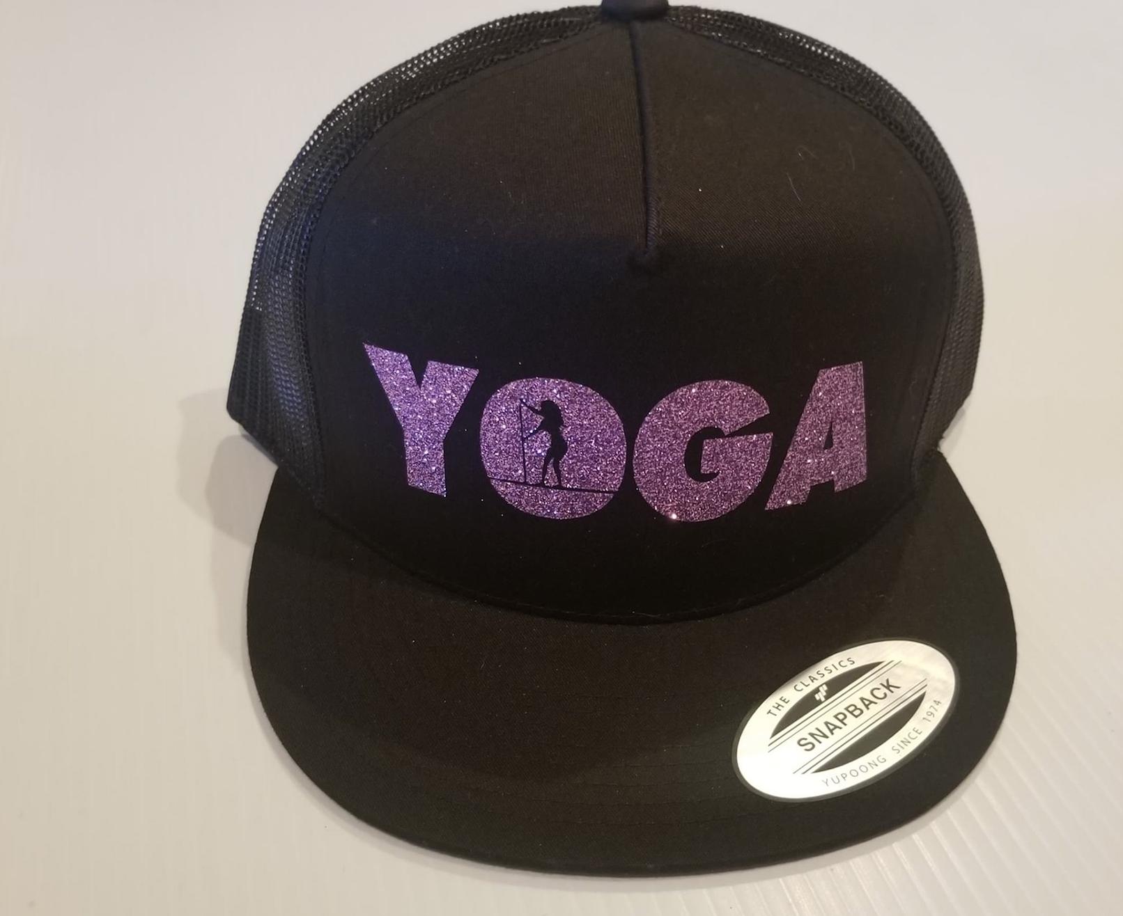 SUP Yoga Purple Sparkle