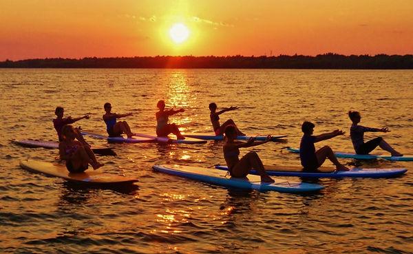 Urban Ocean SUP Yoga Ottawa Kanata