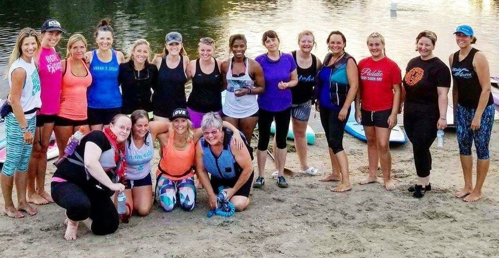 Urban Ocean SUP Sisters Event 2015