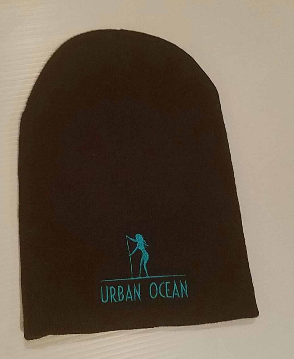 Black Urban Ocean Hat