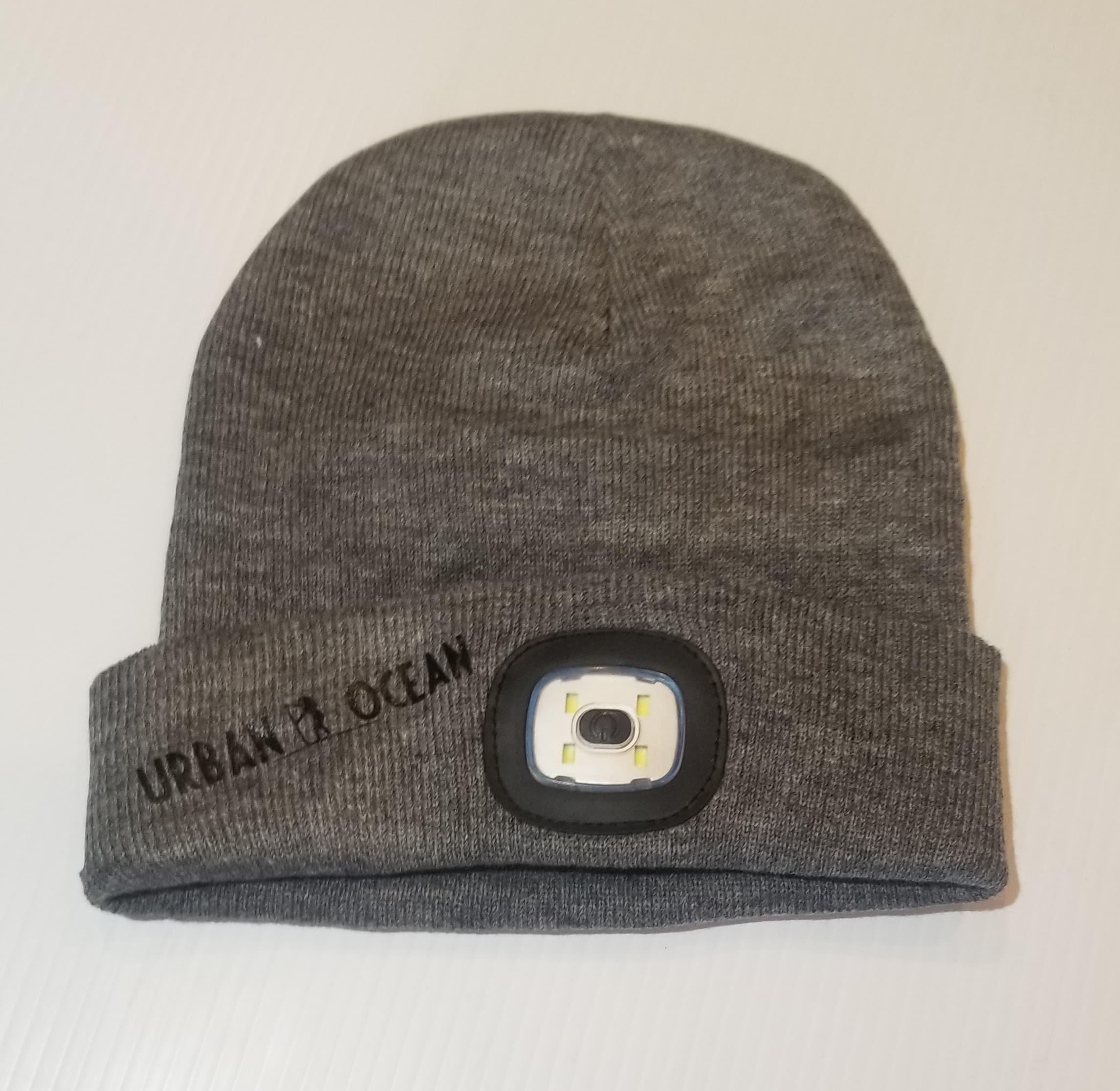 Grey/Black Winter SUP Light Hat