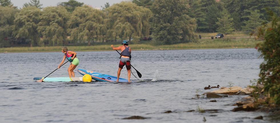 Urban Ocean SUP Race Buoy Turn