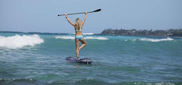 Urban Ocean SUP Yoga Hawaii