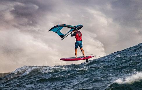 Wind Foiling| Dan Gavere| Urban Ocean SU
