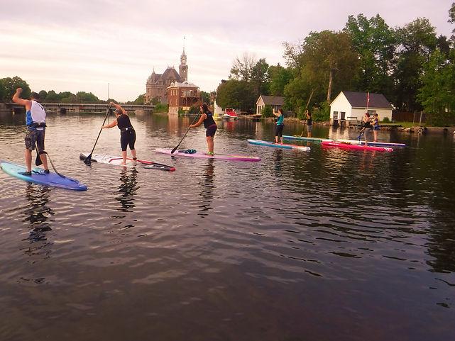 UrbanOceanSUP Race Training Ottawa