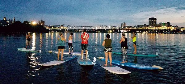 Floating Ottawa Yoga
