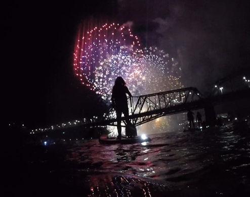 UrbanOcean SUP Fireworks
