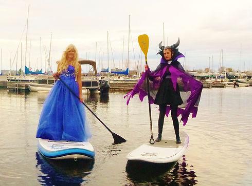 Urban Ocean SUP Costume Paddle_ Sailing