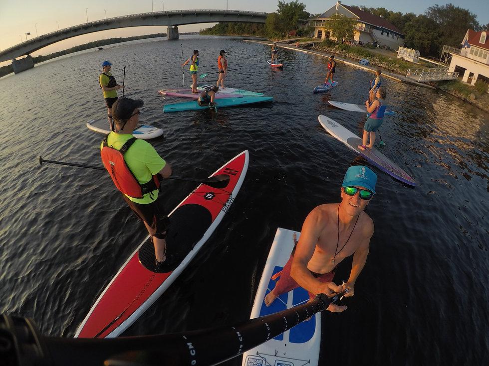Urban Ocean SUP |Ottawa Race Training