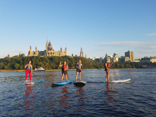 Urban Ocean SUP Discovery Program visit to Parliament