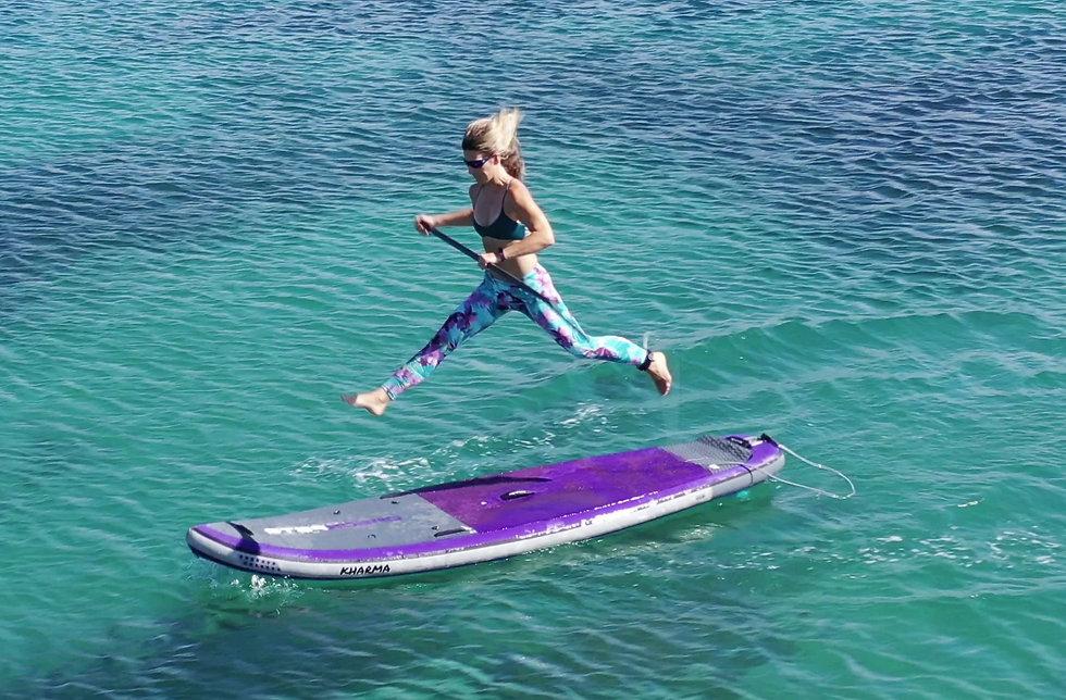 Urban Ocean SUP Fitness  Pacific Ocean,
