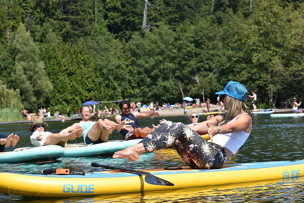 Urban Ocean SUP Yoga Boat| Ottawa Whistl