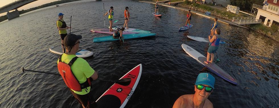 Urban Ocean SUP Race Training